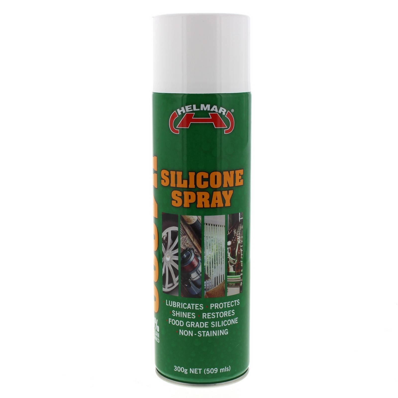 Silicone Spray Lubricant Protect Shine Restore 300g Aerosol Spray Can
