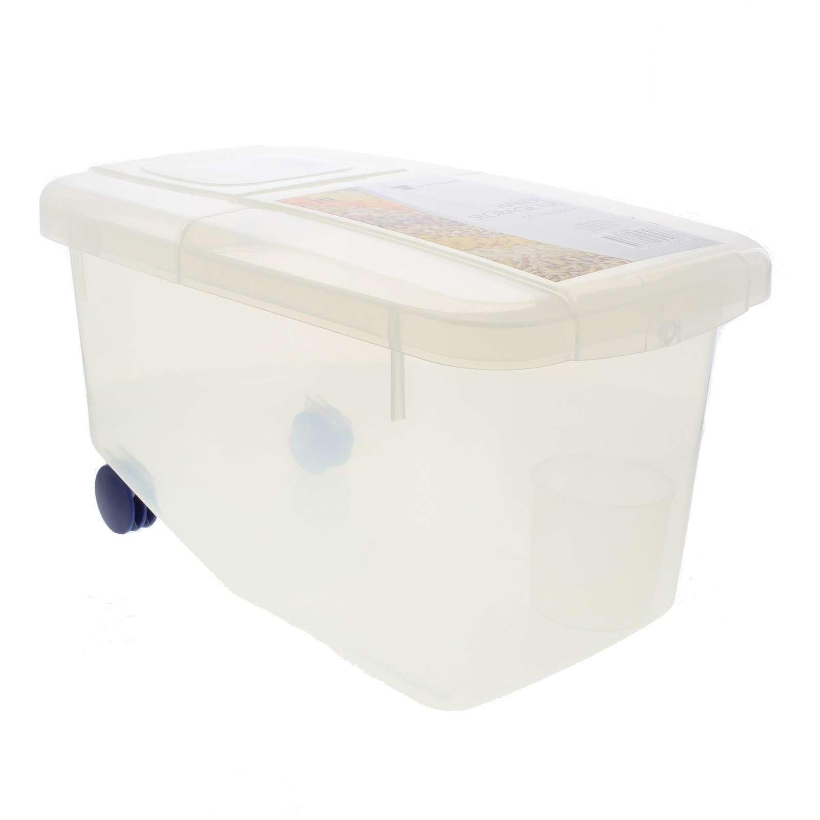Storage Tub 8.5 Litre Kitchen Food Store Rice Oats Floud Pet Food MultiPurpose