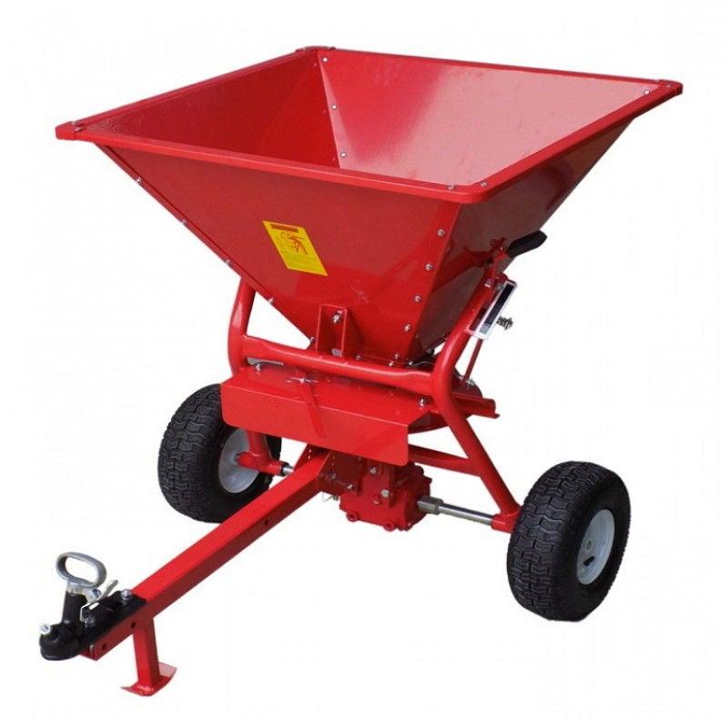 Fertilizer Spreader ATV lawn seed fertiliser broadcast 159 kg tow behind tractor