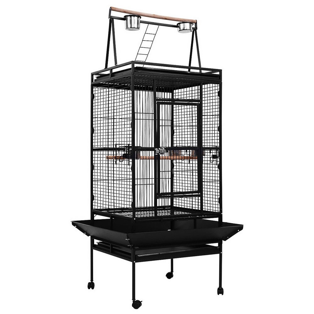 Bird Cage Pet Cages Aviary 173CM Large Travel Stand