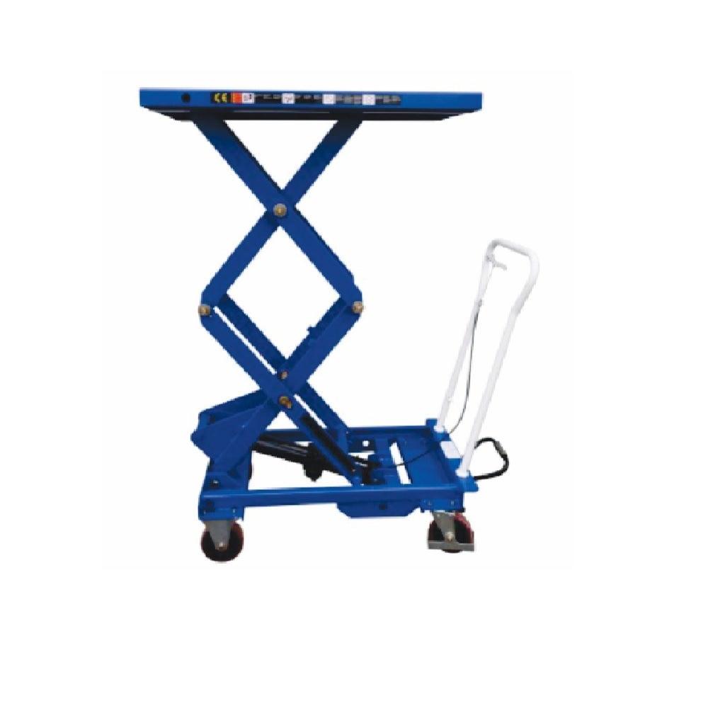 Scissor Lift Table Cart 300 kg Heavy Duty Double Scissor Lift up to 1585mm