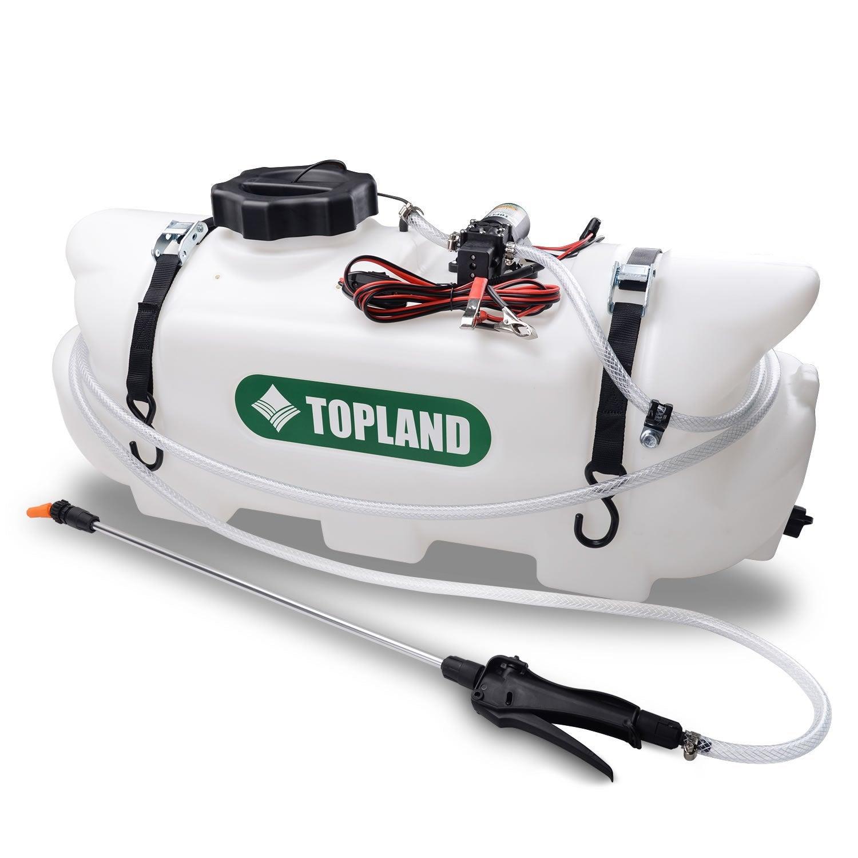 60L 12V ATV Weed Sprayer Broadcast and Spot Spray Chemical Tank