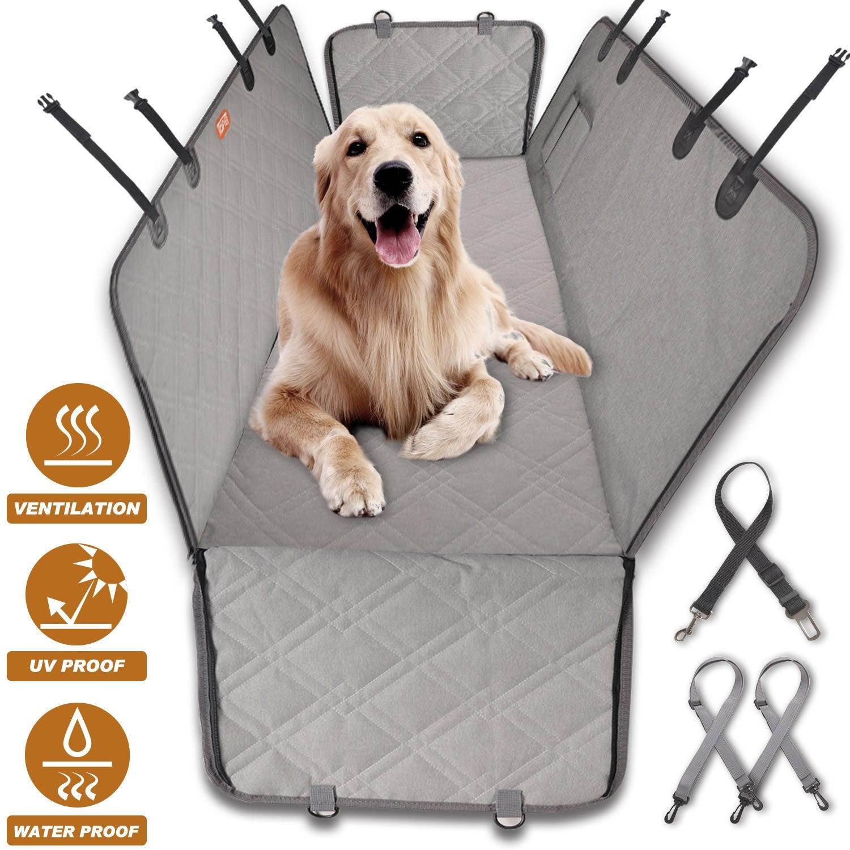 Nonslip Pet Car Back Seat Cover Cat Dog Waterproof