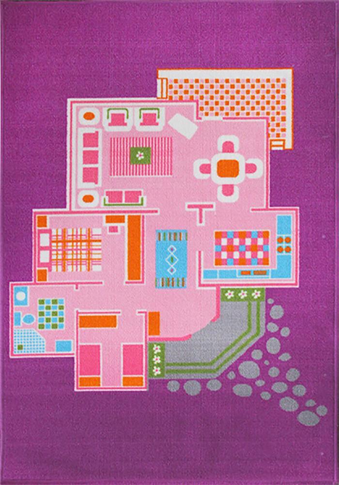 Doll House Play Rug 110x160cm