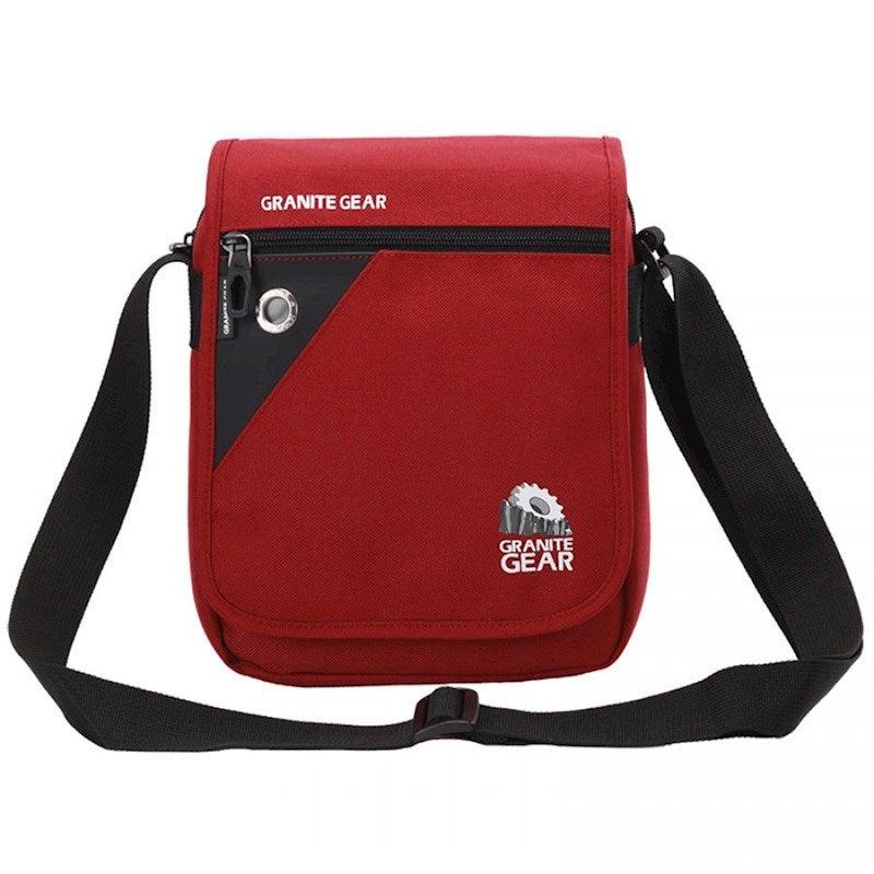 Granite Gear Waterproof Travel Message Bag Daily iPad shoulder Bag G5020 Red