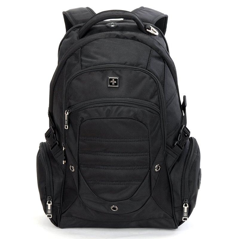 """SWISSWIN Swiss waterproof 17"""" laptop Backpack School backpack Travel Backpack SW9725I"""