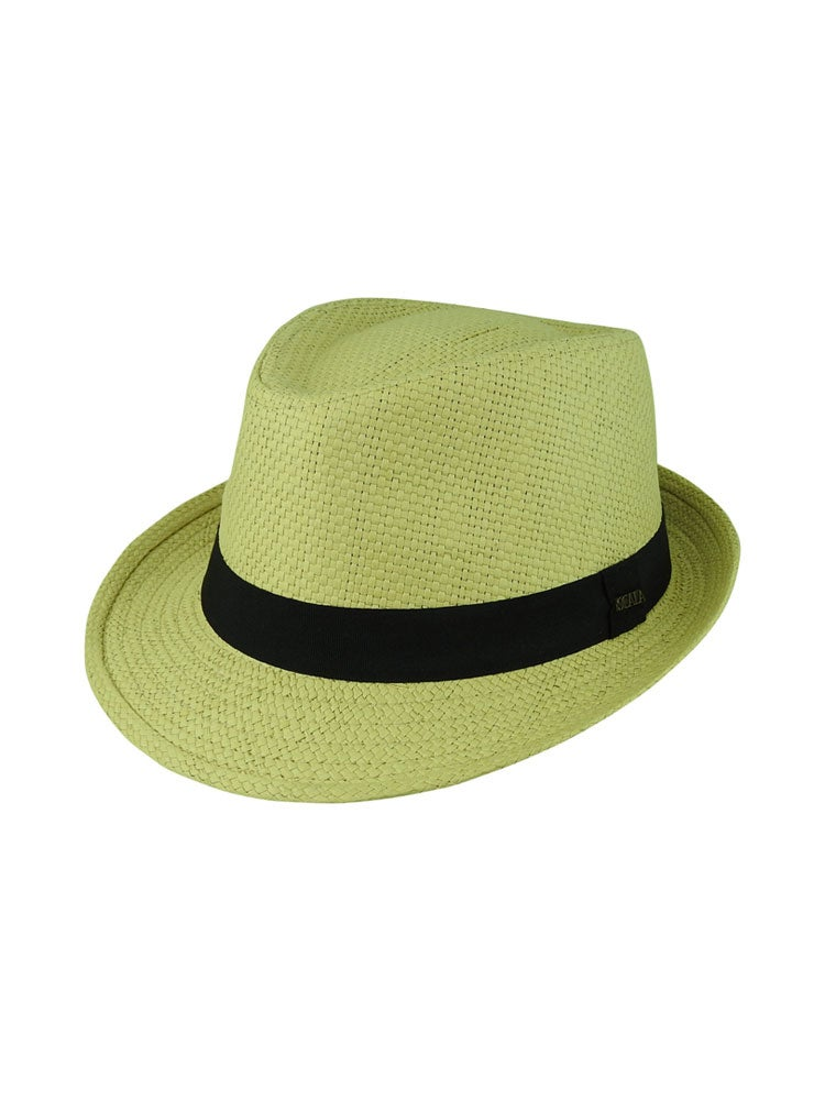 Dot & Co. By Avenel Toyo Trilby Hat - Natural