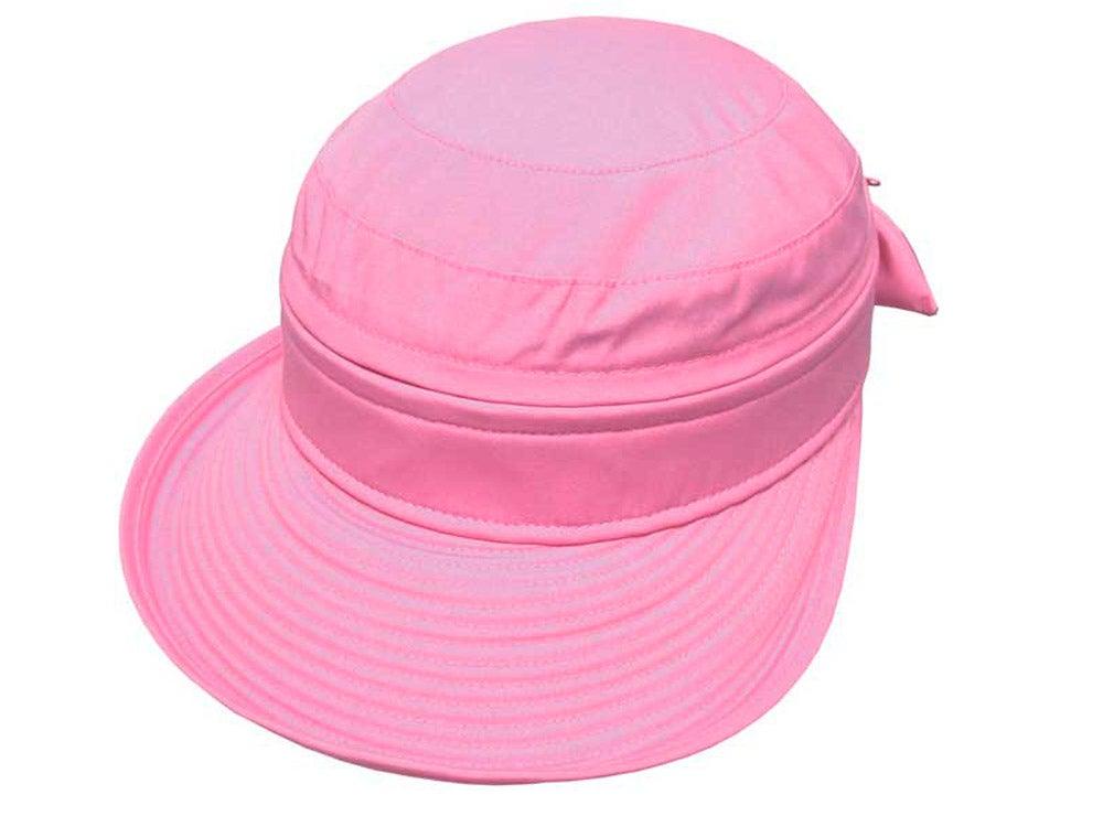Avenel Ladies Polycotton Visor Cap - Pink