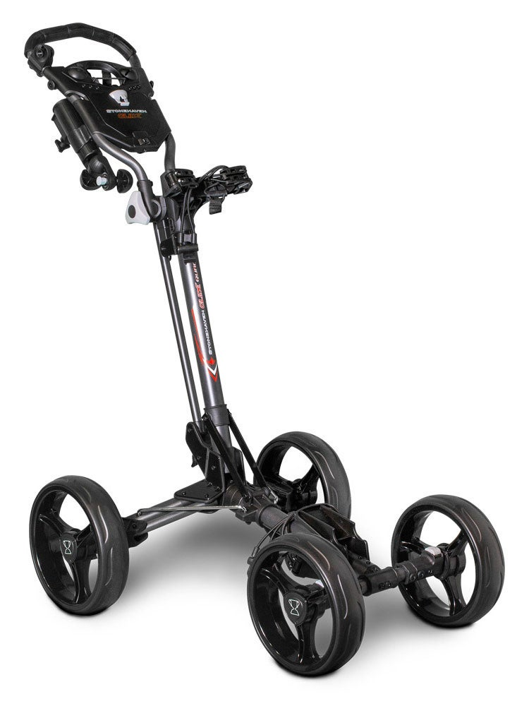 Stonehaven Glide Quad Golf Buggy - Charcoal