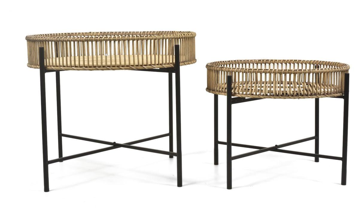 Casa Gili Set of 2 Bamboo Tables