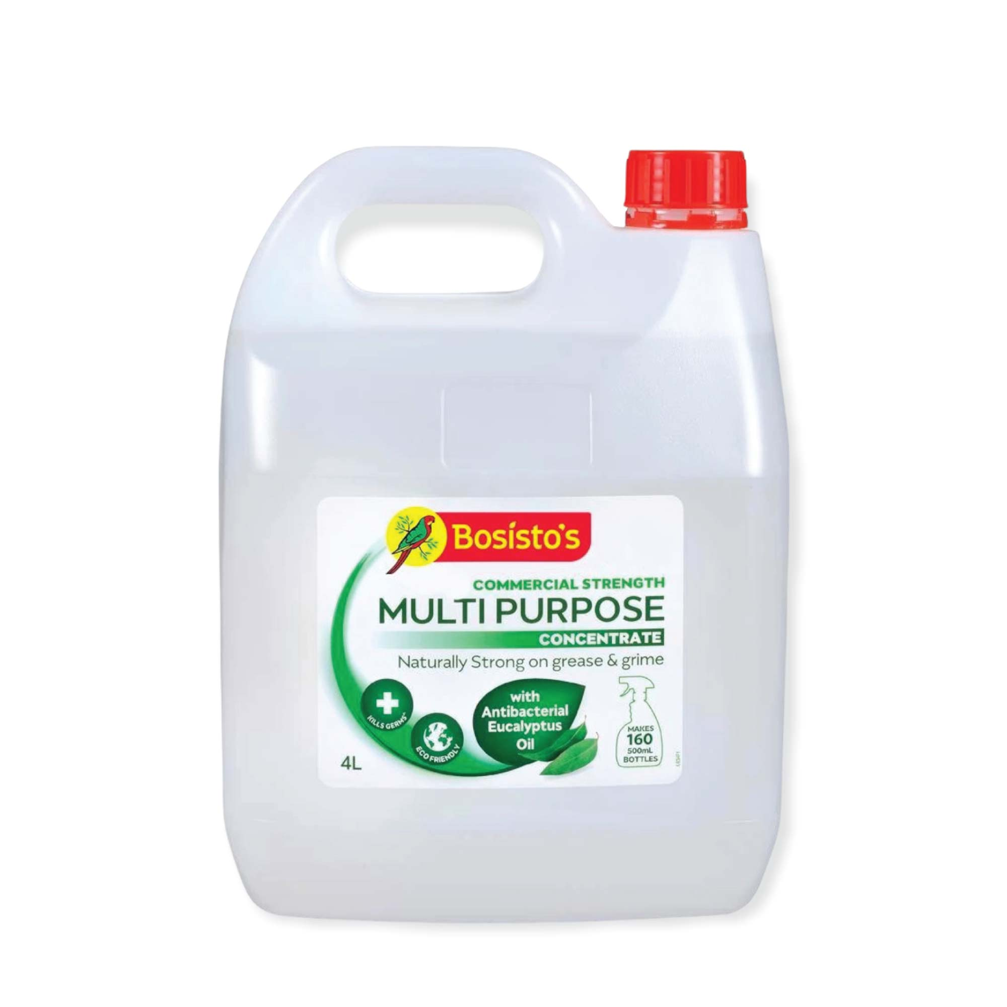 4L Multipurpose Cleaner Bosisto's Commercial Strength Concentrate Eucalyptus Oil