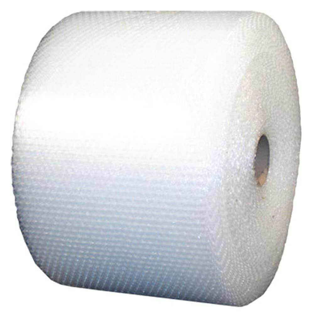 100m x 375mm Bubble Cushioning Wrap Roll Clear Eco P10 Protective Packaging Pack