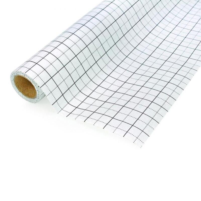 Grid Pattern Tracing Paper Birch 10m x 80cm Blue Printed Dressmakers Sewing Roll