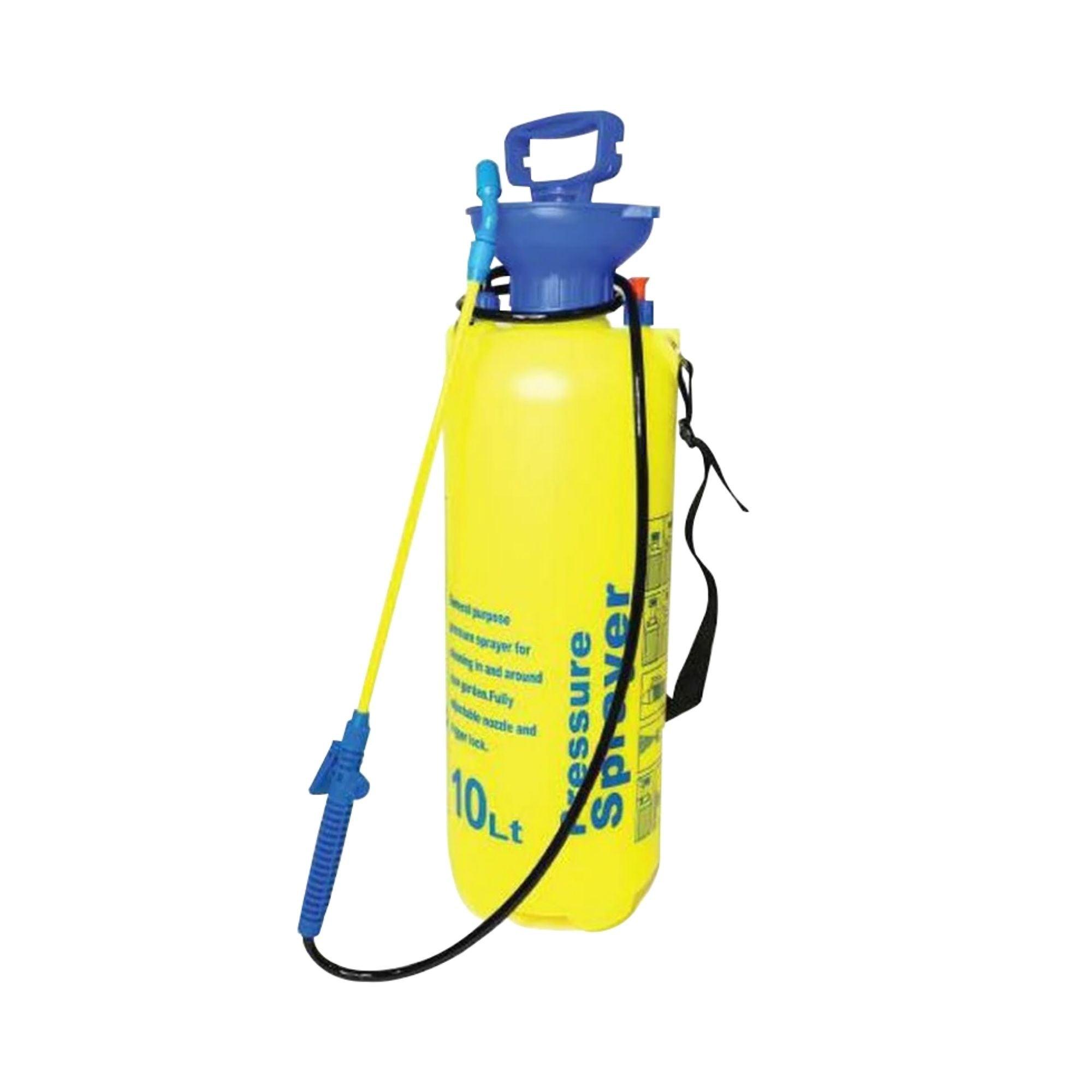 10L Pressure Sprayer Knapsack Portable Garden Yard Weed Pump Pesticide Chemical