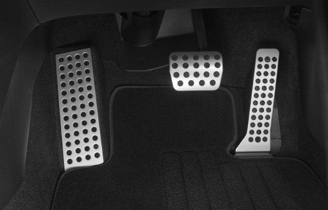 Genuine Mazda 3 BM Mazda 6 GJ CX-5 KE KF Alloy Pedal Covers Set Auto-matic