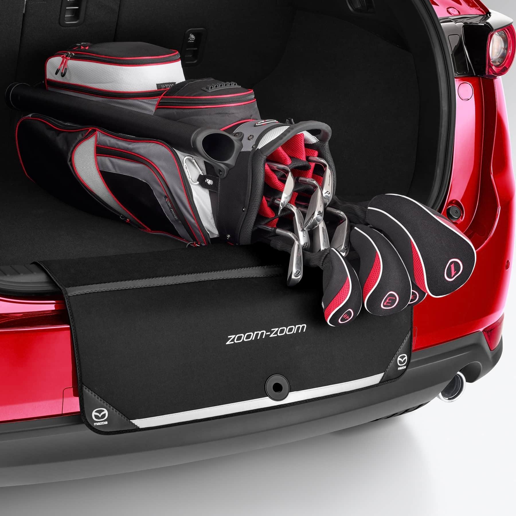 Genuine Mazda 2 3 6 CX-3 CX-5 CX-9 Rear Bumper Boot Lip Protector KE11ACBLP