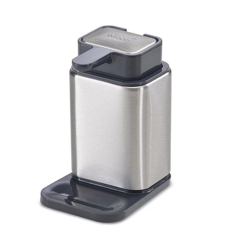 Joseph Joseph Sink Base Kitchen Stainless Steel Soap Pump Dispenser Bar Set