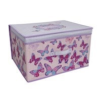 Country Club Jumbo Storage Chest, Butterfly