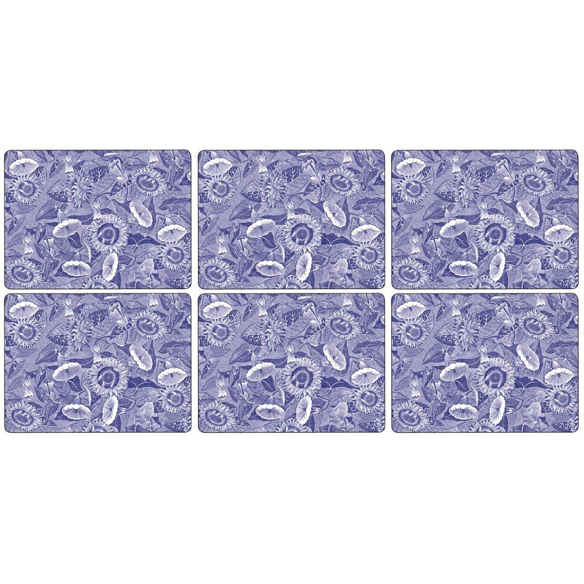 Pimpernel Blue Room Placemats Set of 6