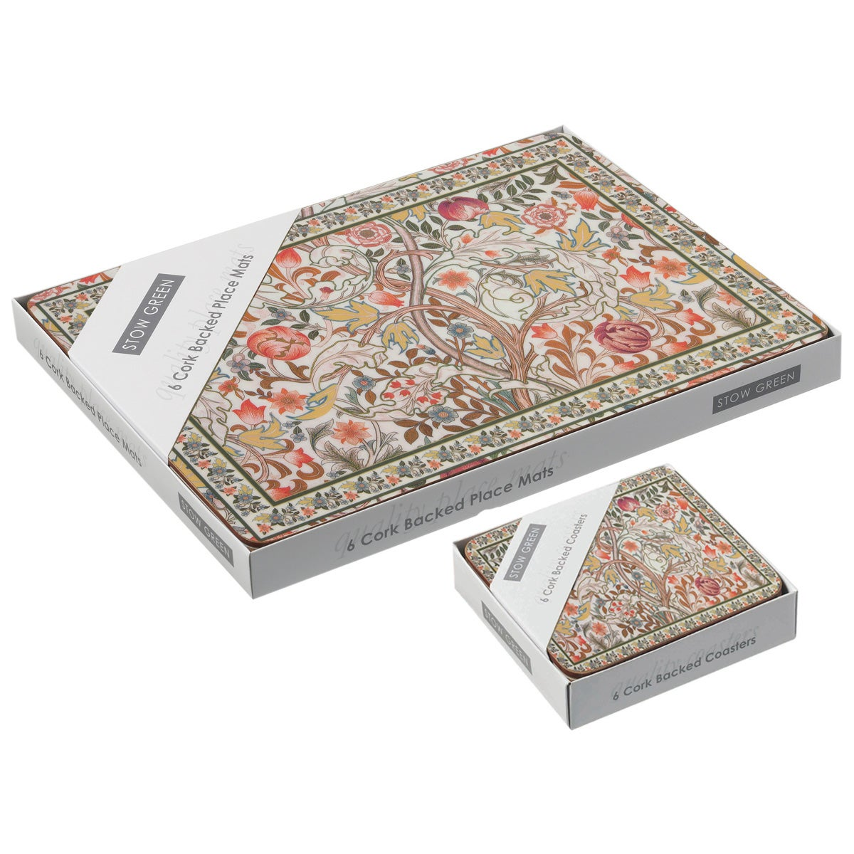 Stow Green Mary Isobel Placemats and Coasters