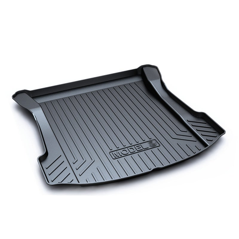 Boot Liner for Tesla Model 3 2019-2021 Heavy Duty Rear Cargo Trunk Cover Mat Luggage Tray
