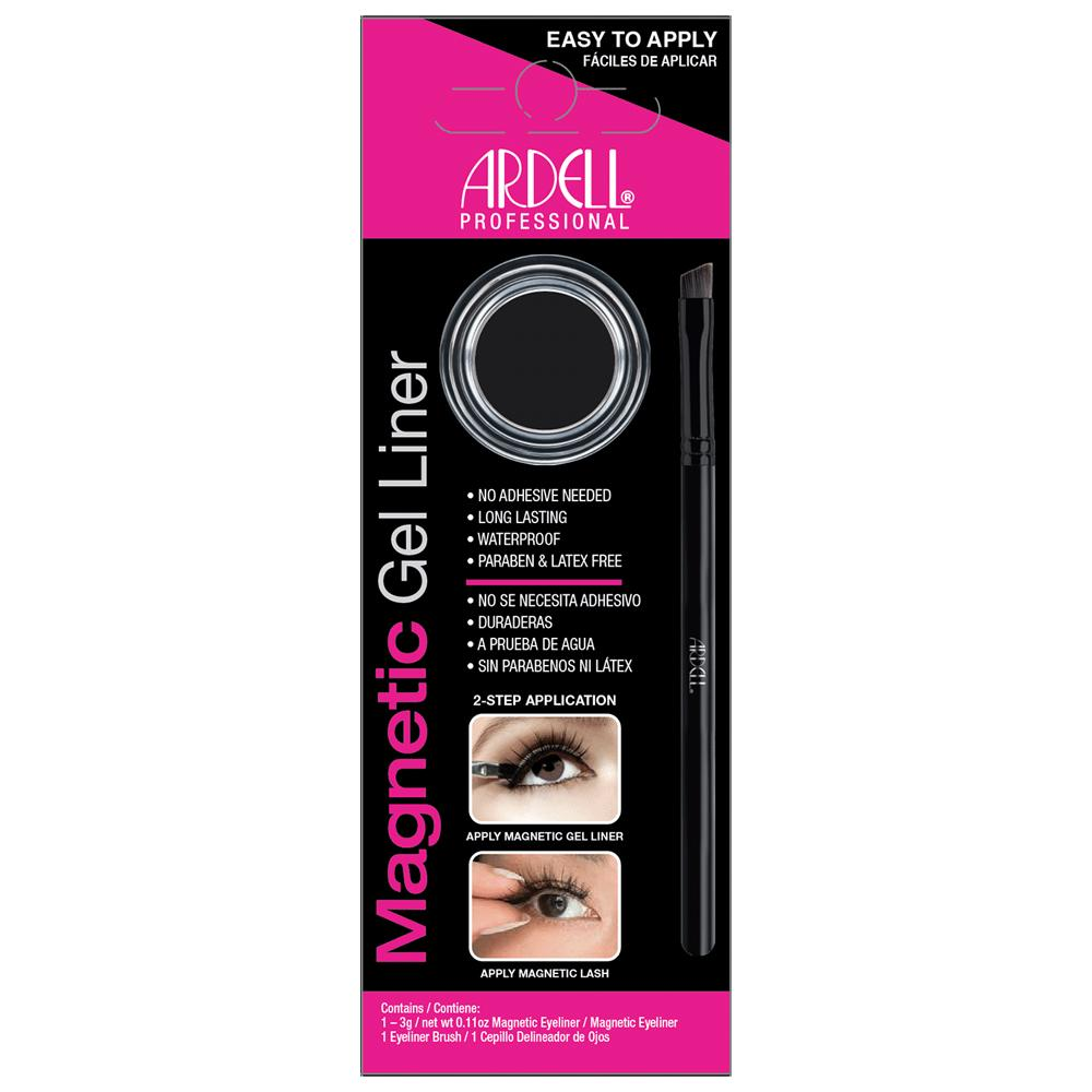 Ardell Magnetic Gel Liner Waterproof Long Lasting No Adhesive Secures Lashes