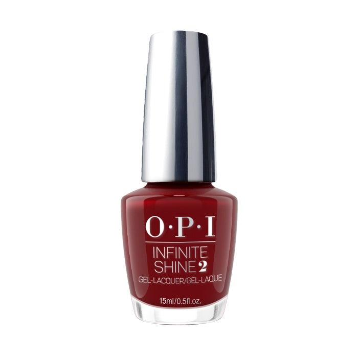 OPI Infinite Shine Nail Polish Lacquer ISLL87 Malaga Wine 15ml