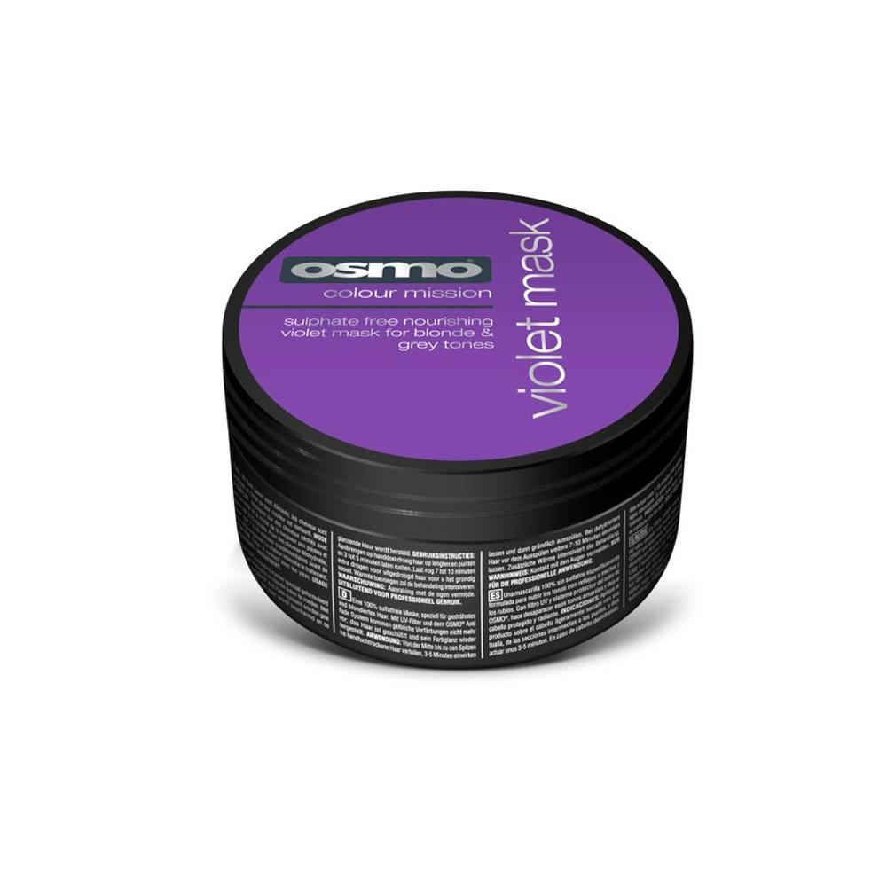 OSMO Silverising Violet Hair Mask 100ml Protect Colour Treated Restore Vibrancy