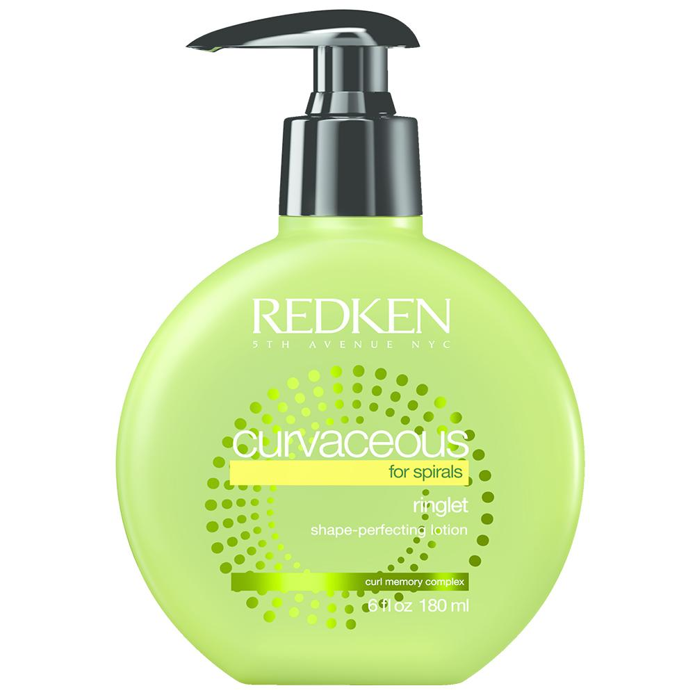 Redken Curvaceous Ringlet Anti-Frizz Perfecting Lotion (180ml) Curly Hair