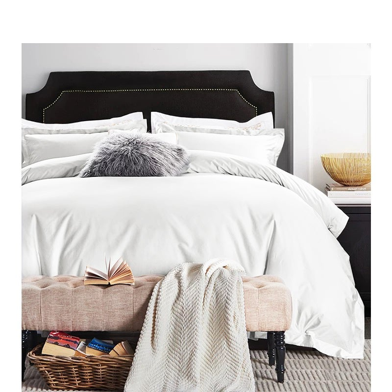 1000TC Egyptian Pure Cotton Sateen Quilt Cover Set