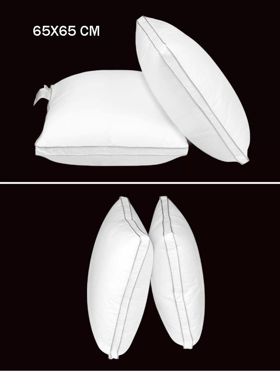 European White Goose Down Pillow 65*65 cm