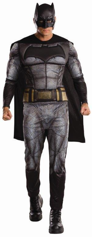 Batman Deluxe Costume for Adults - Warner Bros Batman: Dawn of Justice