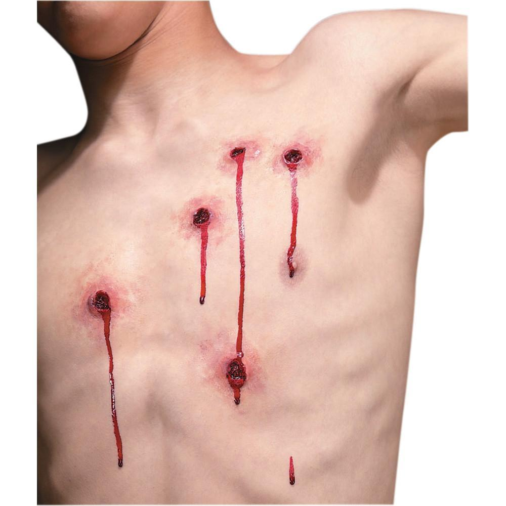 Bullet Wounds Latex Fx