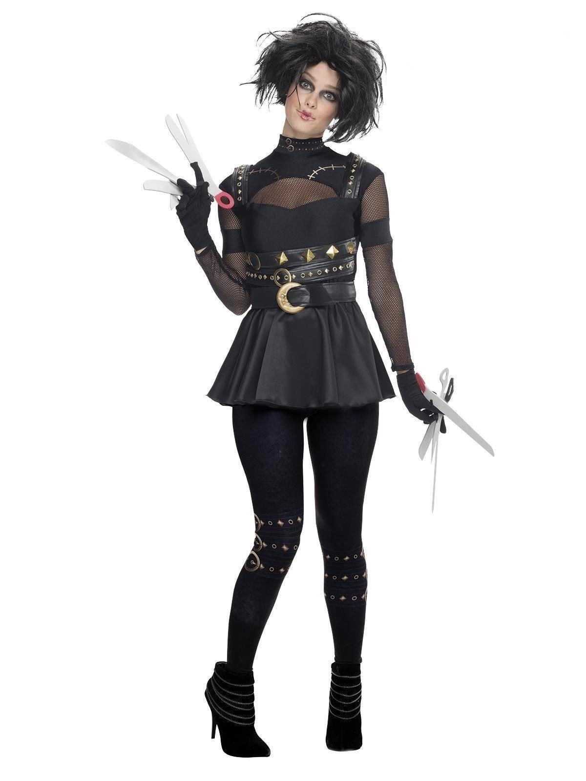 Edward Scissorhands Sexy Deluxe Costume for Adults - Edward Scissorhands