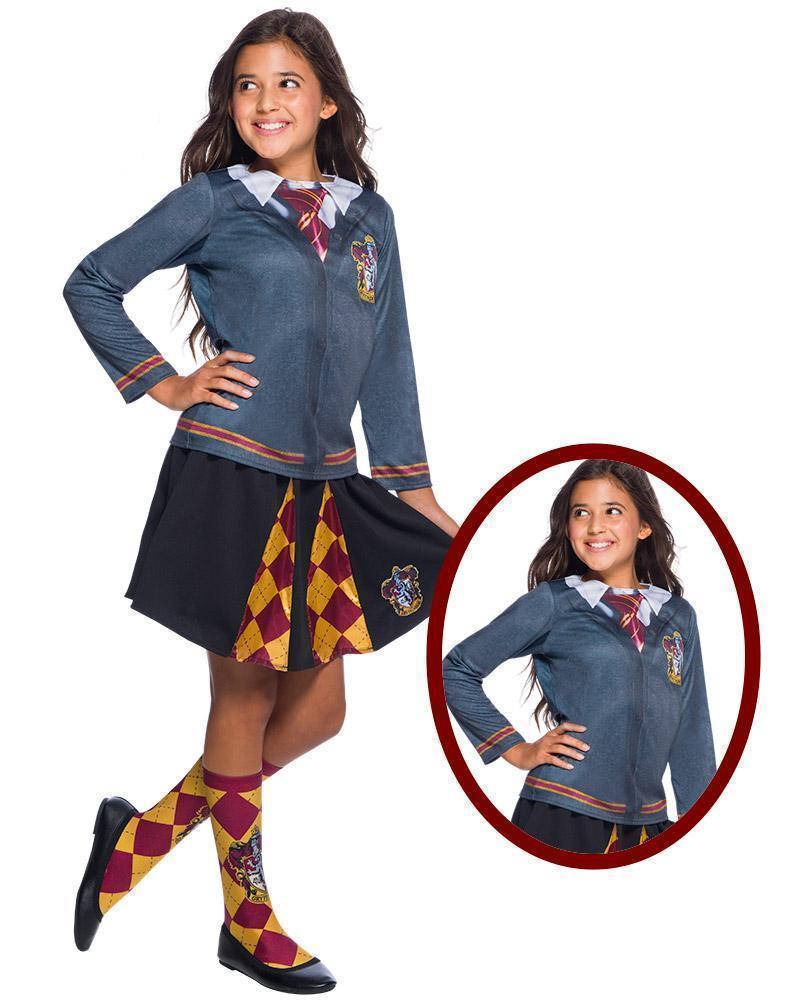 Gryffindor Top for Kids - Warner Bros Harry Potter