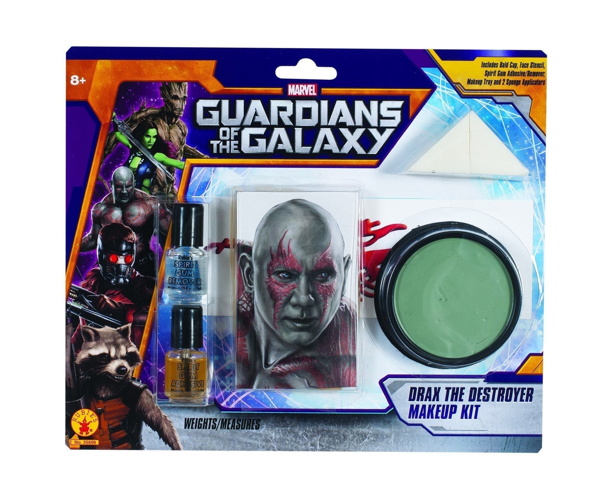 Drax The Destroyer Make Up Kit - Marvel Guardians Of The Galaxy