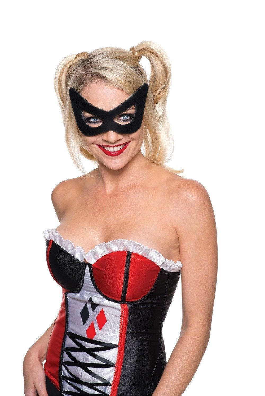 Harley Quinn Eye Mask for Adults - Warner Bros DC Comics