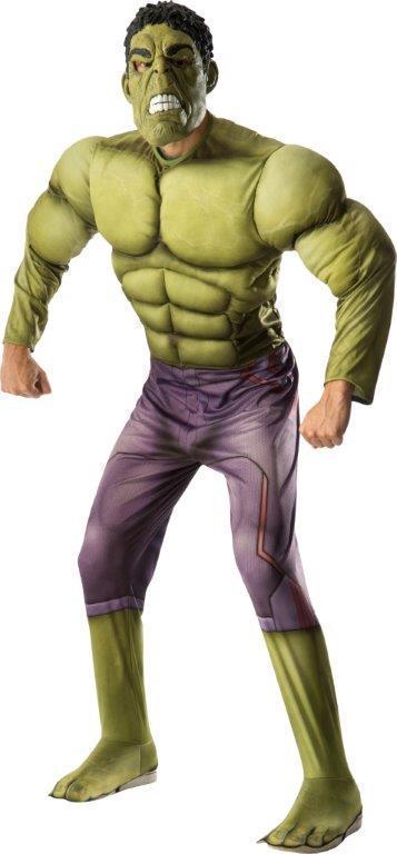Hulk Deluxe Costume for Adults - Marvel Avengers