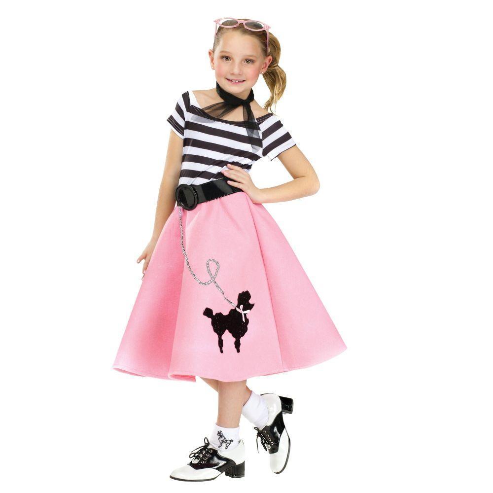 Poodle Dress Costume for Kids