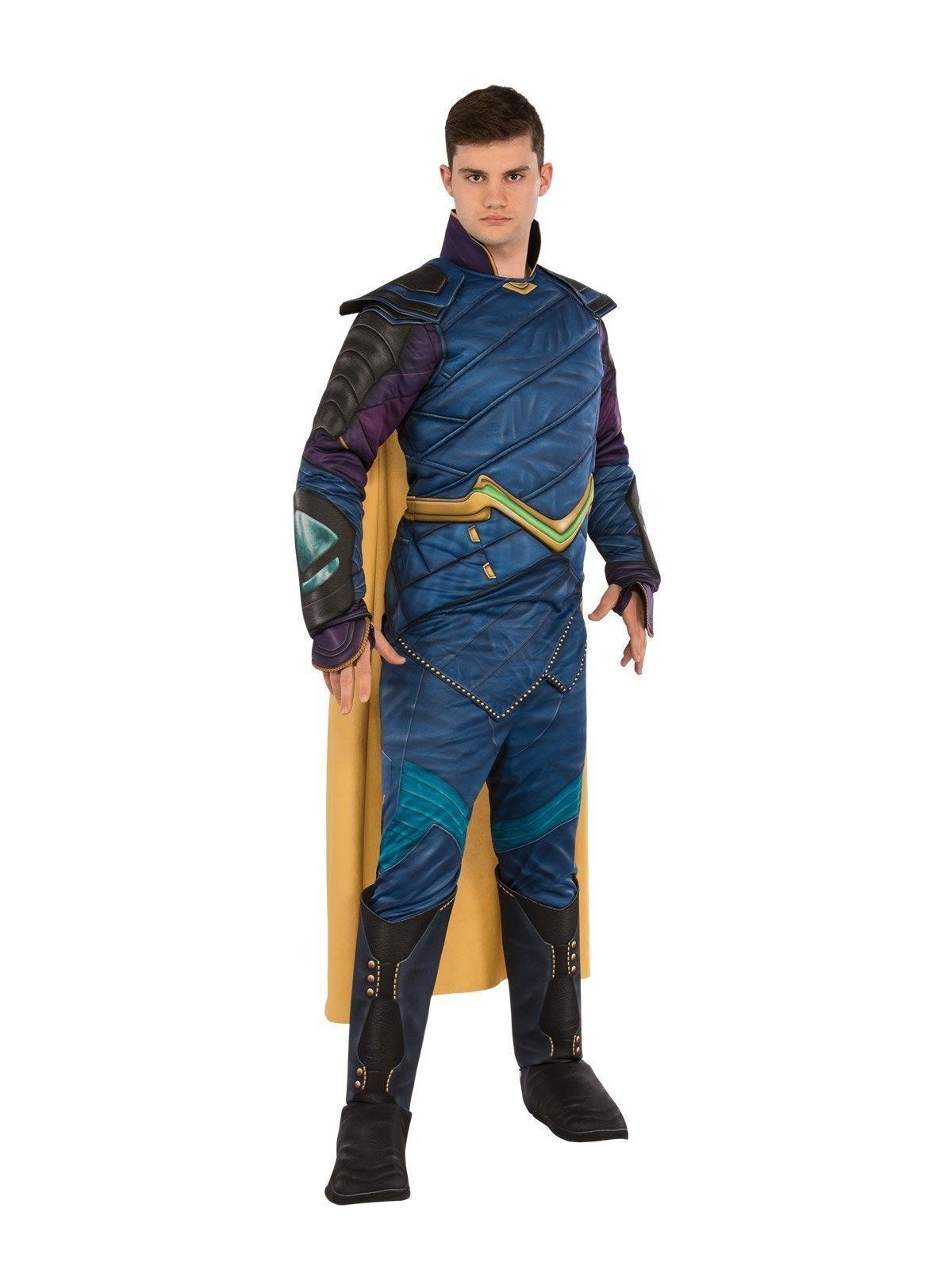 Loki Deluxe Costume for Adults - Marvel Avengers