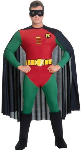 Robin Costume for Adults - Warner Bros DC Comics