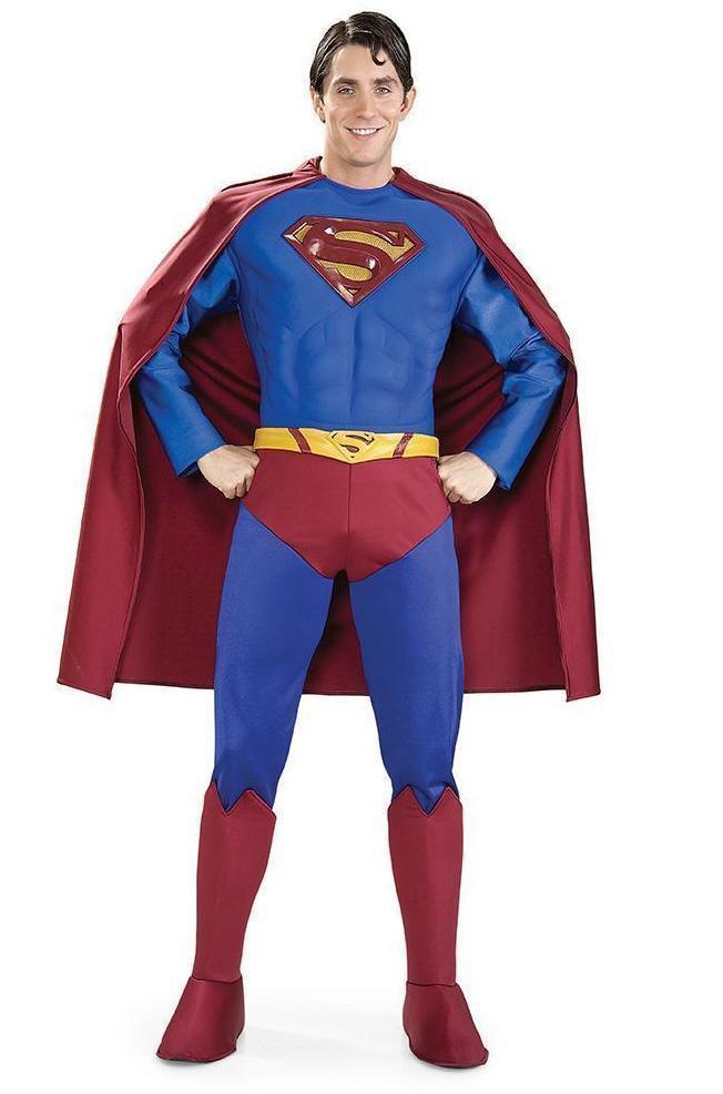 Superman Supreme Edition Costume for Adults - Warner Bros Superman Returns
