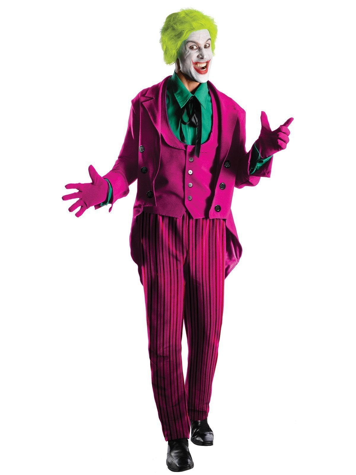 The Joker 1966 Collector's Edition Costume for Adults - Warner Bros DC Comics