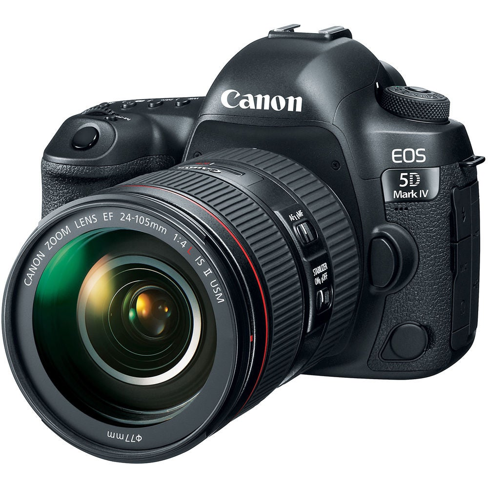 Canon EOS 5D Mark IV with 24-105mm f/4L IS II Lens