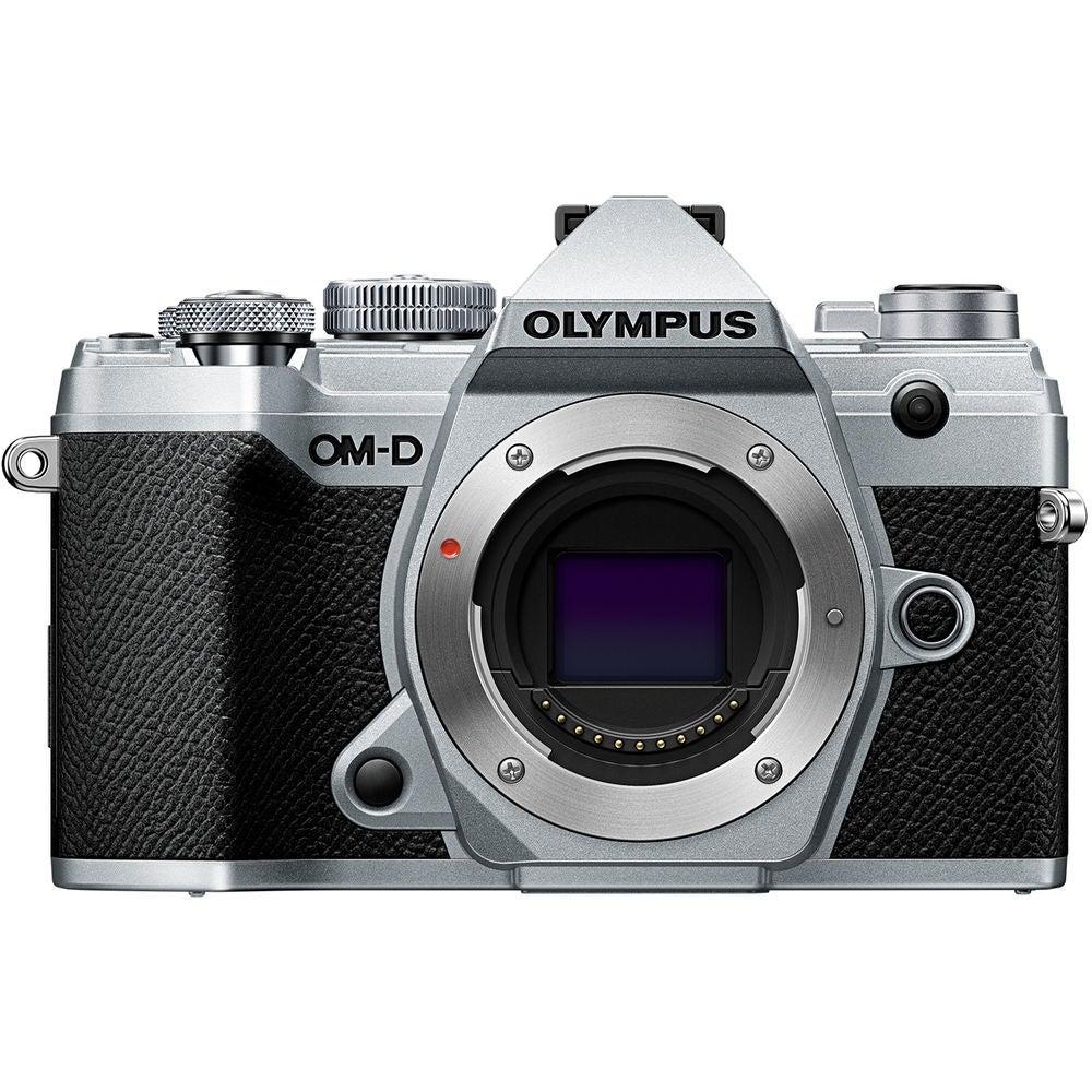 OLYMPUS E-M5 Mark III Mirrorless Digital Camera (Body Only, Silver)