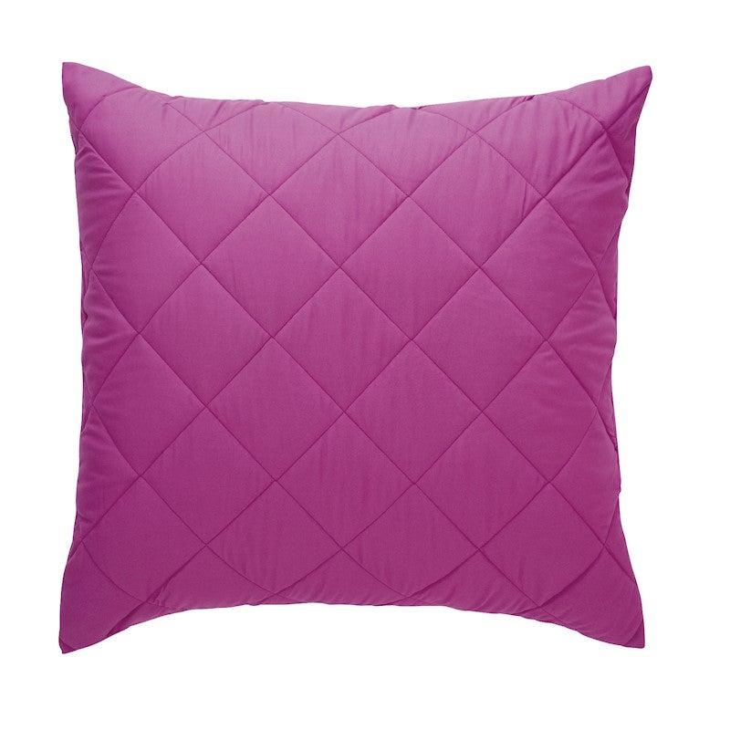 Bianca Vivid Coordinates European Pillowcase Grape