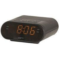 Digitech Compact Portable 240V LED Alarm Clock with AM/FM Radio