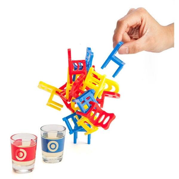 Balancing Chairs Drinking Game