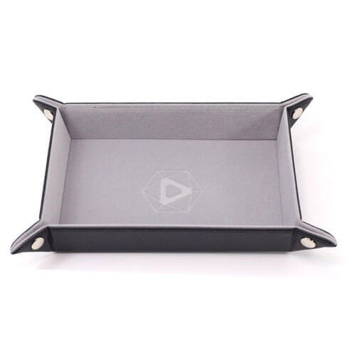 GRAY VELVET Die Hard Dice Folding Rectangle Tray