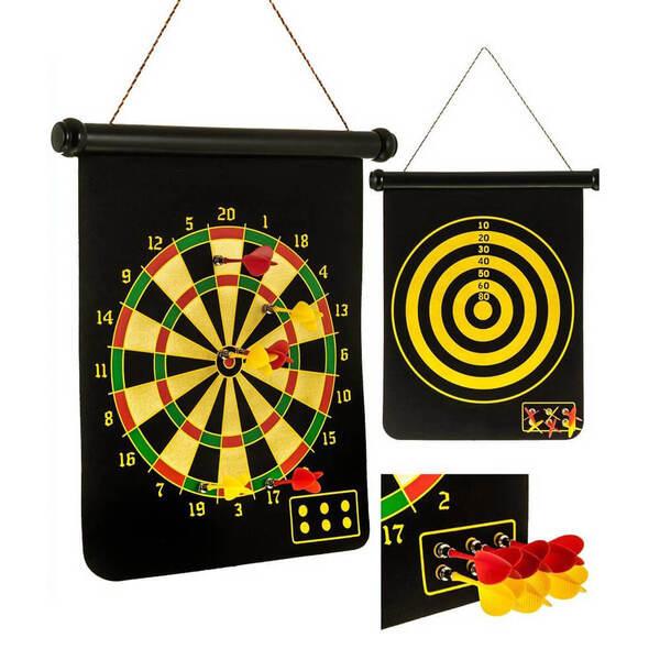 Magnetic Rollup Dartboard & Bulls Eye